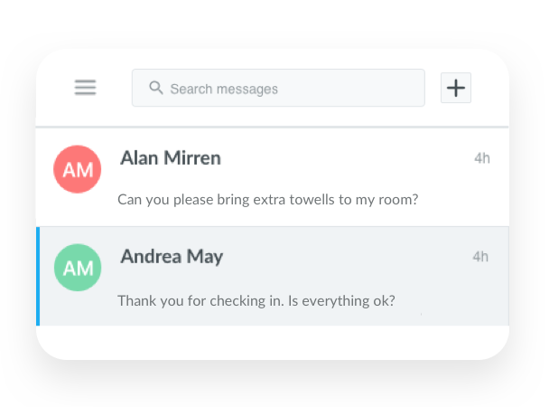 HOTEL - MESSAGING
