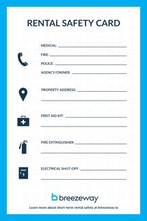 Safety Card