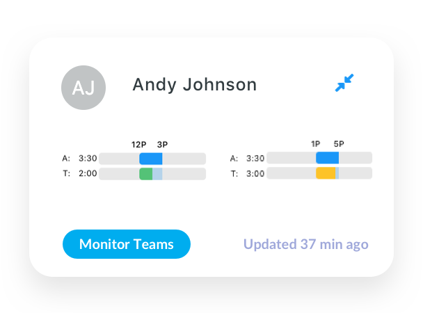 Monitor Your Teams through GPS Map View, Task Timing, and User Planning.