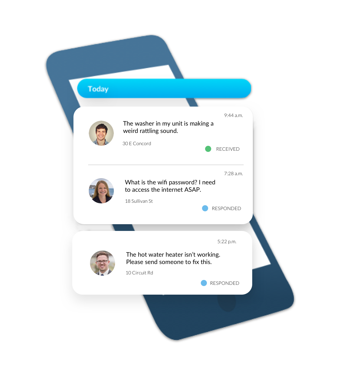 Seamless Communication with Renters and Field Staff