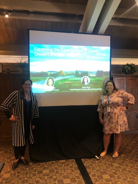 Beach House Rental and Breezeway Presentation at NWVRP 2019